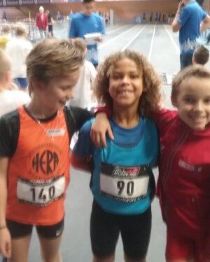 Eljahro's sportieve weekend In Alkmaar en Vlijmen; Amar sprintte goed in Alkmaar