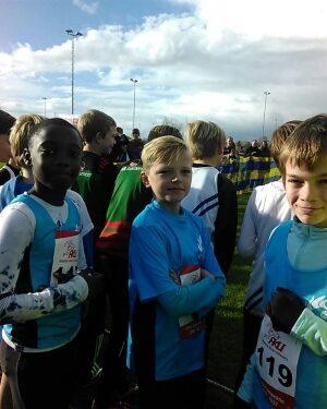 Indoorwedstrijden in Lisse en Zoetermeer, Cross in Uithoorn