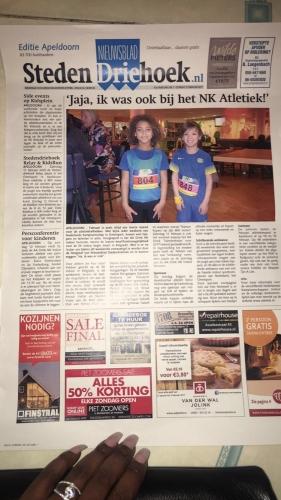 Feniks weekly 6: Kidsrun NK indoor