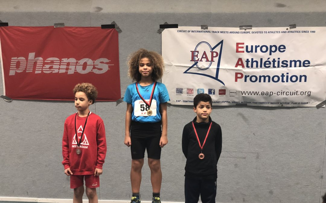FENIKS WEEKLY 06: Sprinten in Amsterdam, indoor Hellas